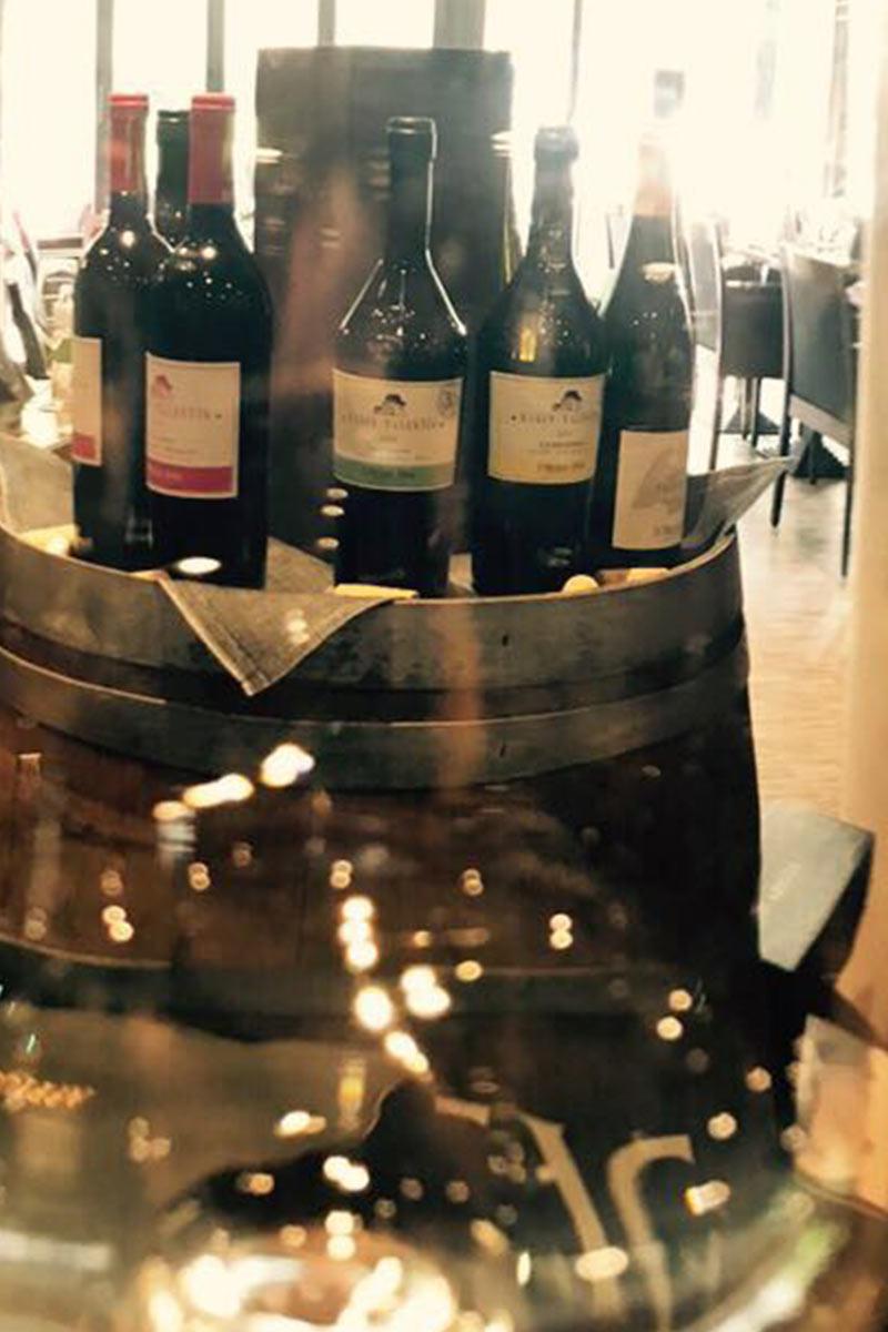 Breite Weinauswahl