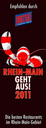 Rhein-Main Geht aus - Restaurant Auszeichnung 2011
