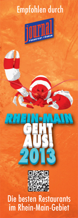 Rhein-Main Geht aus - Restaurant Auszeichnung 2013