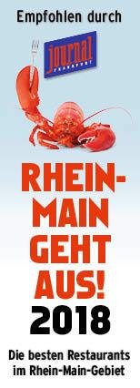 Rhein-Main Geht aus - Restaurant Auszeichnung 2018